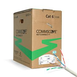 BOBINA CABLE UTP COMMSCOPE CAT 6 305Mts Gris 1427071-4