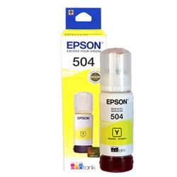 BOTELLA DE TINTA EPSON #504 (T504420-AL) Amarillo