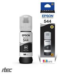 BOTELLA DE TINTA EPSON 544 NEGRO L3110 L3150 | 70 ML (PÁG 4500)