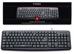 Kit Teclado y Mouse Verbatim Bravo USB 98111