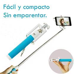 Selfie Stick Kelyx Cableado P/ Celular Azul