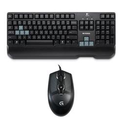 Kit Teclado + Mouse Logitech G100s Usb Gaming Negr