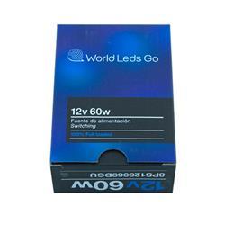 Fuente Switching 12V 60W World Leds Go