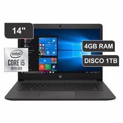NOTEBOOK HP 240 G7| INTEL CORE I5-1035G1 | RAM 4 GB | 1TB  | 14 / 151F0LT·AC8