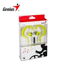 Auricular Genius HS-M270 Gray/Green In Ear