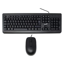 TECLADO + MOUSE GENIUS KM-160 USB BLACK