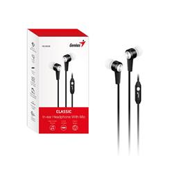 Auriculares Genius HS-M228 C/Microfono  NEGRO