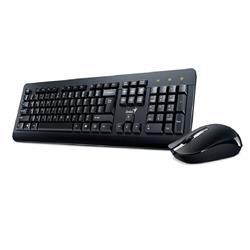 Kit Teclado Y Mouse Inalambrico Genius  KM-8200 Smart Negro