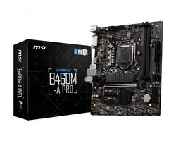 MOTHERBOARD MSI B460M-A PRO S1200