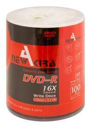 Pack 100UN DVD-R NEWAKIRA 16X