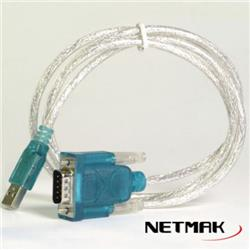 Netmak Cable Usb A Serie O Rs232 Db9 NM-C14