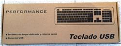 Teclado Performance Keq-022 Usb