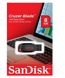 PENDRIVE Sandisk 8GB 2.0 Cruzer Blade (SDCZ50-008G-B35)