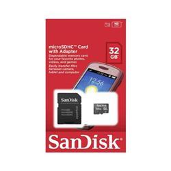 TARJETA MICRO SDHC SanDisk 32GB CLASE 4 (SDSDQM-032G-B35A)