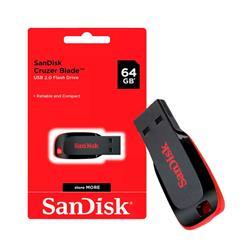 PenDrive SanDisk Cruzer Blade 64GB USB 2.0