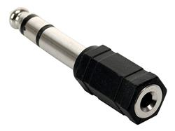 Adaptador Stereo 6.3 Macho A Mini 3.5 Hemb Nisuta (NS-ADST63)