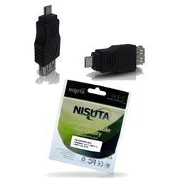 Adaptador Micro USB M a USB H con OTG (NS-CAMICROUSH2)