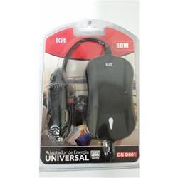 Cargador Universal DN-D801 p/NOTEBOOK 80W JT80W P/AUTO