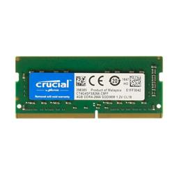 MEMORIA RAM SODIMM Crucial DDR4 4GB 2666Mhz CT4G4SFS8266