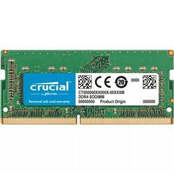 MEMORIA RAM SODIMM Crucial DDR4 8GB 2666Mhz 1.2V CL19  CT8G4SFRA266