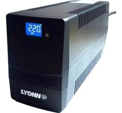 UPS LYONN CTB-1200 A CON CABLE, SOFT Y VISOR LCD