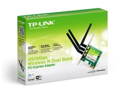 Placa de Red TP-Link Wireless Pci-e - 450 Mbps Dual 3 Antenas (TL-WDN4800)