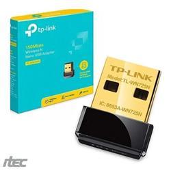 PLACA DE RED USB TP-LINK TL-WN725N NANO WIFI 150M