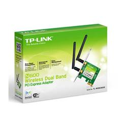Placa de Red TP-Link Wireless  PCI Express 300MBPS Dual 2 Antenas TL-WDN3800