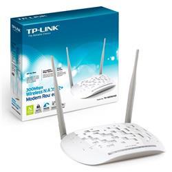 Modem Router ADSL2 + Inalámbrico N a 300Mbps TP-Link W8961ND