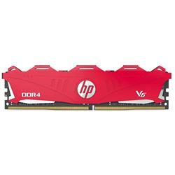 MEMORIA RAM HP V6 8GB DDR4 2666Mhz Rojo  7EH61AA#ABM