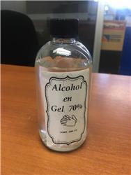 Alcohol en Gel x 250 ml.