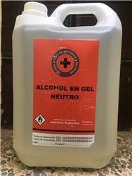 Alcohol en gel en bidón de 5 litros
