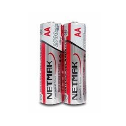 PILAS RECARGABLES NETMAK NM-AA270 AA 2700MAH X2