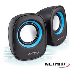 Parlante NETMAK Delight NM-9025B 6W USB 2.0 Azul