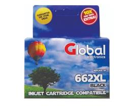 Cartucho Alternativo HP Global CZ105AL 662XL Negro