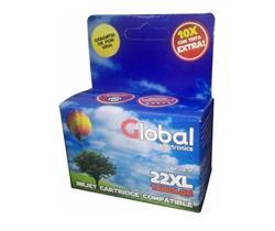 CARTUCHO GLOBAL Tricolor (C9352CL #22XL)