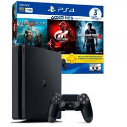 Playstation 4 + GOW-GTS-UC4 1TB PS4