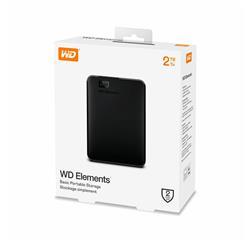 DISCO EXTERNO Western Digital 2TB (WDBU6Y0020BBK)