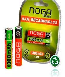 Pilas Recargables AAA Noganet 1300 Mah Bliser X 2u Original