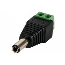 Ficha Plug Macho Dc 5.5 X 2.1mm Bornera NET-QUALITY