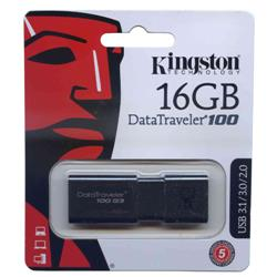 PENDRIVE Kingston 16GB 3.1/1.0/2.0 (DT100G3/16GB)
