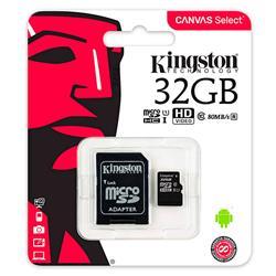 TARJETA MICROSD Kingston 32GB Clase10 (SDCS/32GB)