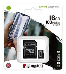 TARJETA MICRO SD Kingston 16GB Clase 10 (SDCS2/16GB)