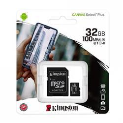 MICRO SD KINGSTON 32GB CLASE 10 SELECT PLUS SDCS2/32GB