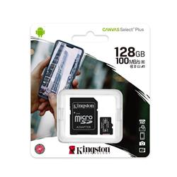 MICRO SD KINGSTON 128GB CLASE 10 SELECT PLUS  SDCS2/128GB