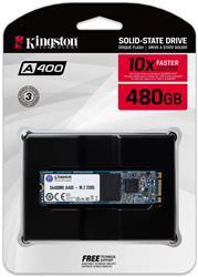 DISCO SSD M.2 Kingston 480GB A400 (SA400MB/480G)