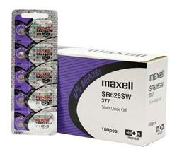 Pilas MAXELL SR626SW (377) Blister X5 Unidades
