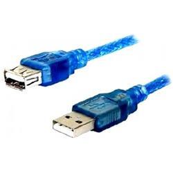 Cable Netmak Alargue USB Macho Hembra 1.8mts NM-C09 1.8