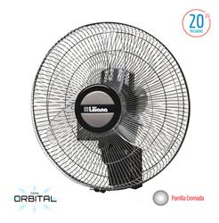 VENTILADOR DE PARED ORBITAL LILIANA 20 VWOC20