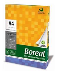 Resma BOREAL Extra Blanca A4 (21 x 29.7) 75g / X500 HOJAS